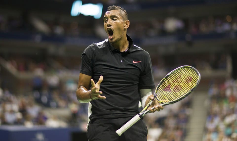 BPI NICK KYRGIOS USOPEN DAY2