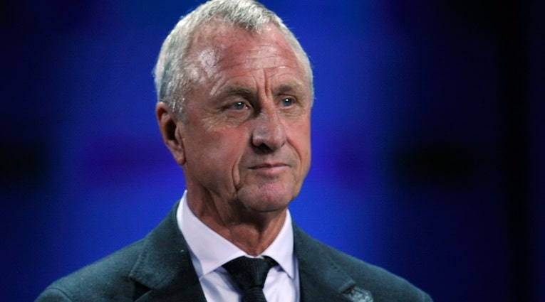 ohan Cruyff died of cancer at the age of 68