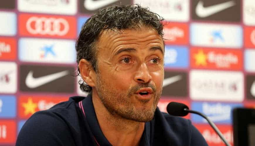 Luis Enrique mentioned the team he wouldn't like to face