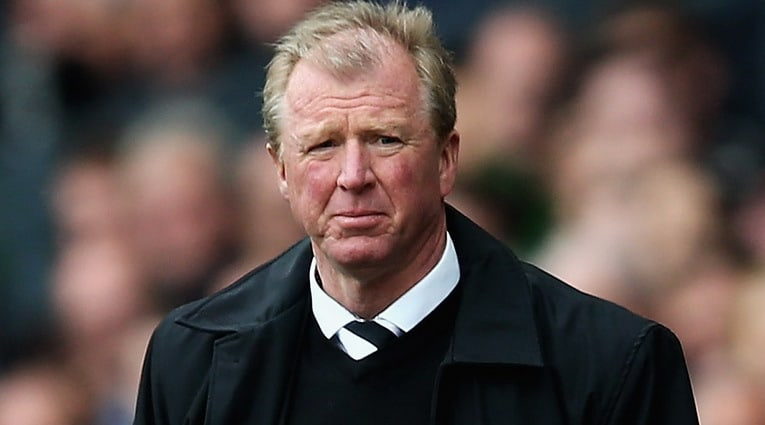 Newcastle United sacked Steve McClaren