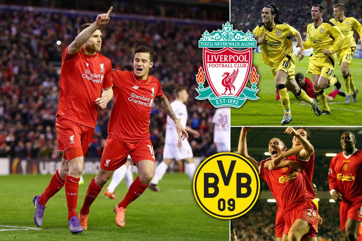 Liverpool Vs Dortmund