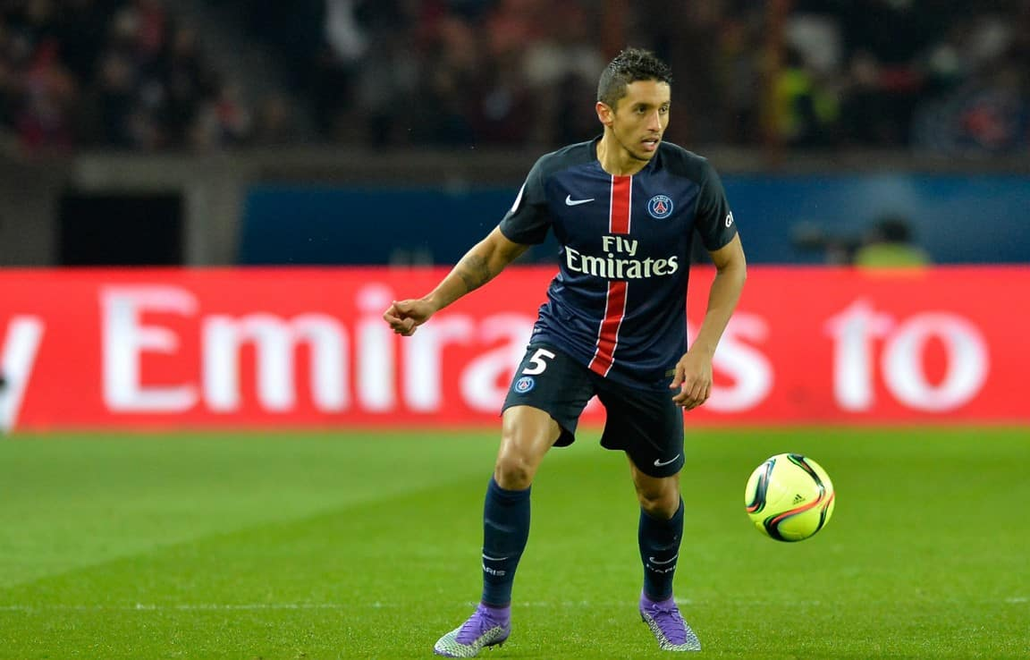 PSG defender Marquinhos wanted by Barca, Real and MU