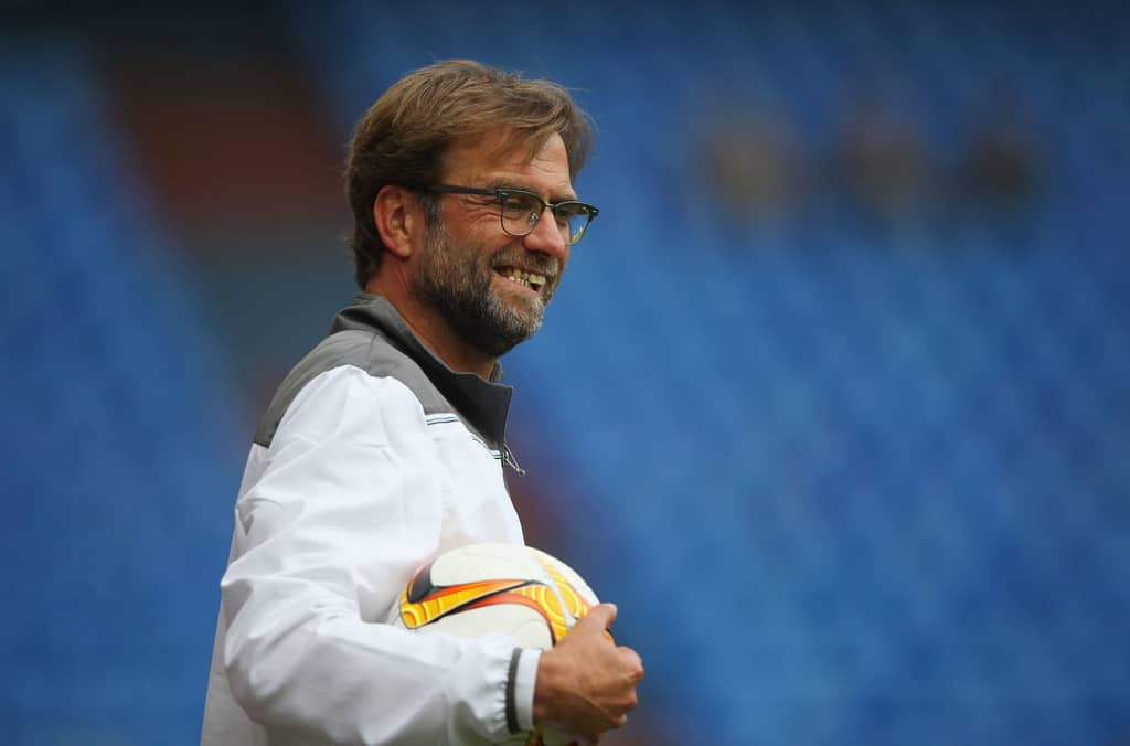 Jurgen Klopp motivates his players