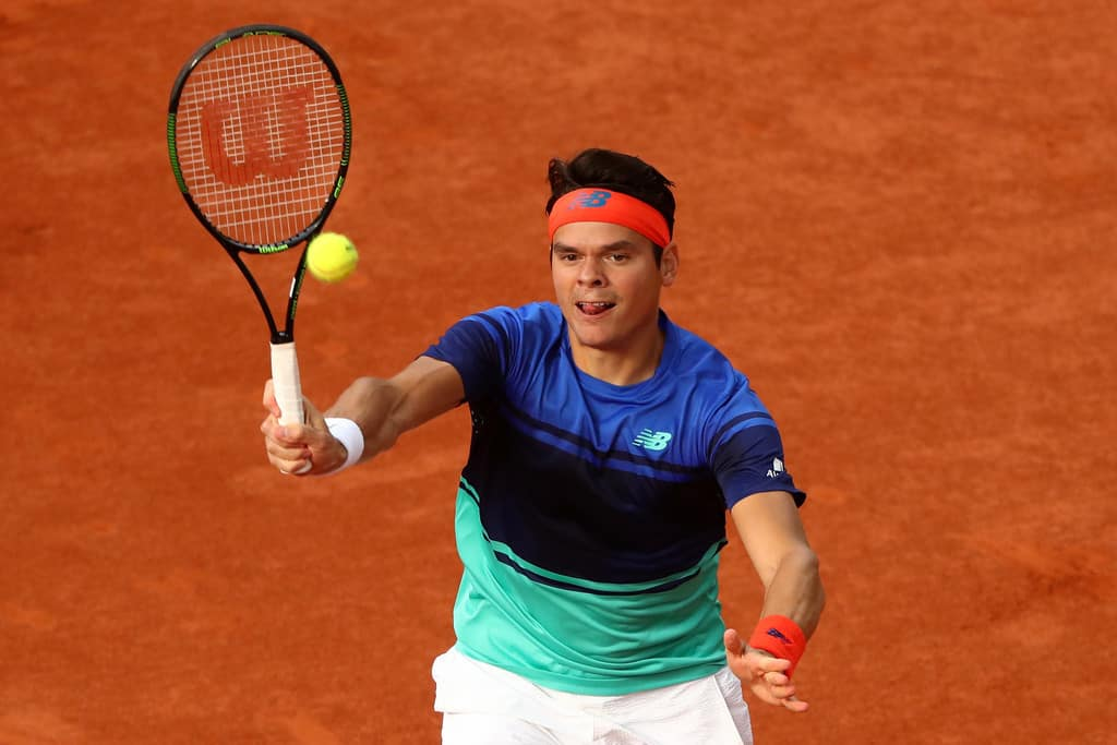 Milos Raonic made it to the 3rd round of French Open ...