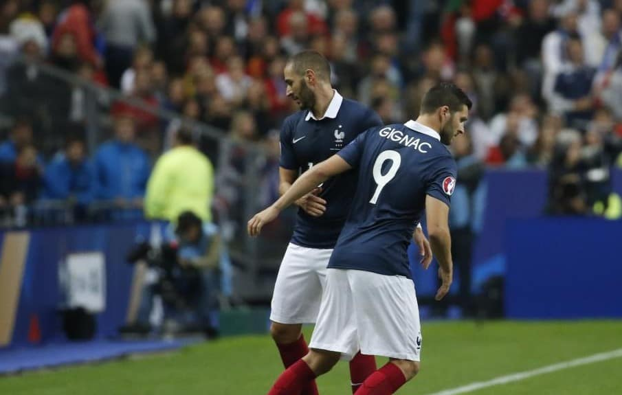 Image result for Gignac Benzema