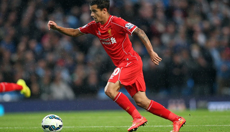 Coutinho is happy at Liverpool
