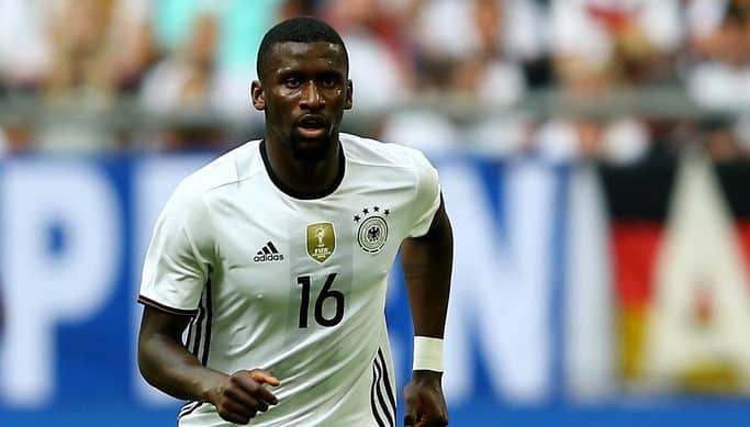 Rudiger out of euro