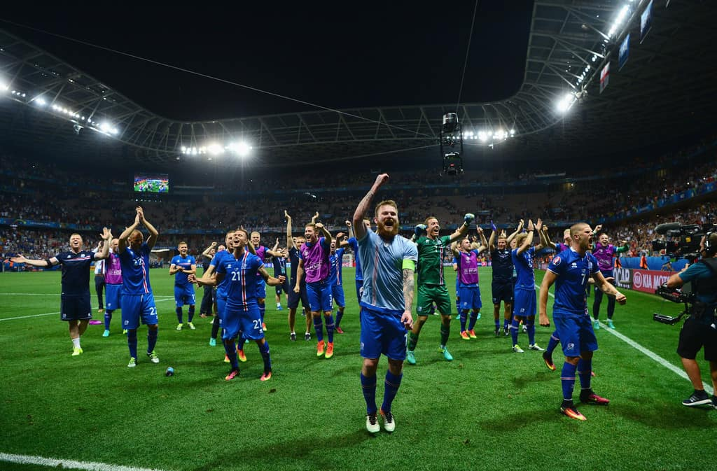 Iceland goes through the quarters