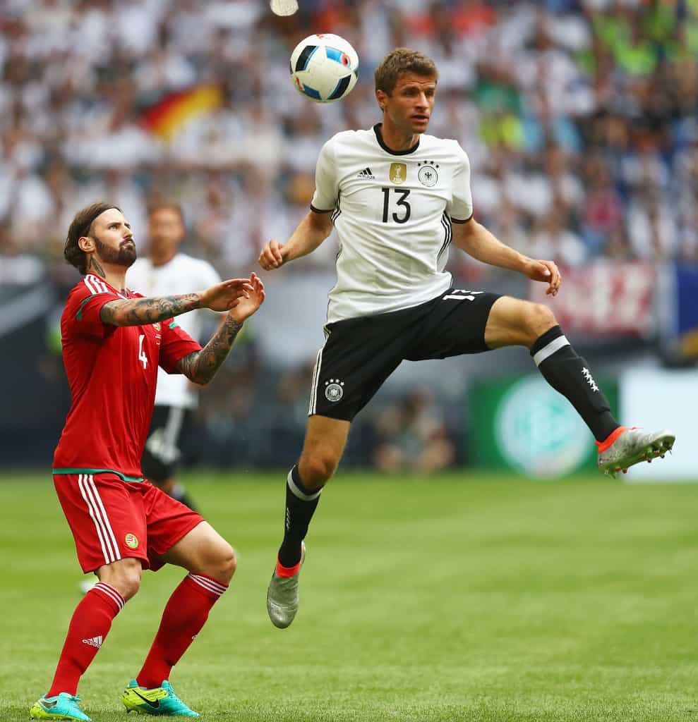 Thomas+Muller+Germany+v+Hungary+International