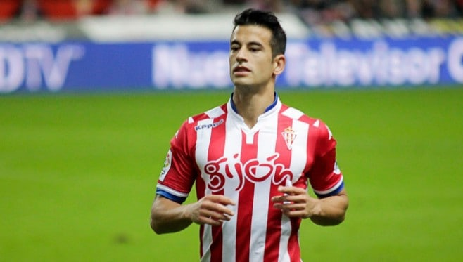Leicester City have confirmed the signing of Spanish defender Luis Hernandez from Sporting Gijon on a four-year deal.