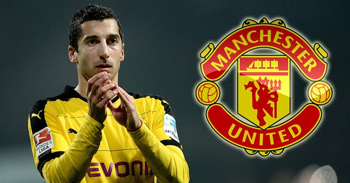Mkhitaryan moves to Manchester United