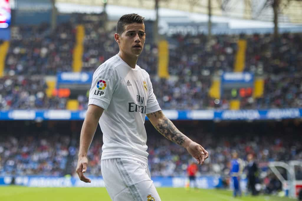 Real Madrid are ready to sell their Colombian midfielder James Rodriguez if they receive an offer of 80 m euros.