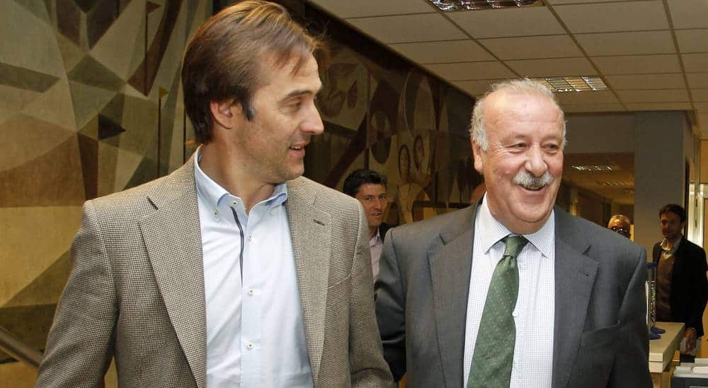 Del Bosque was the king, while Lopetegui is the prince. The king is gone, live long the prince.