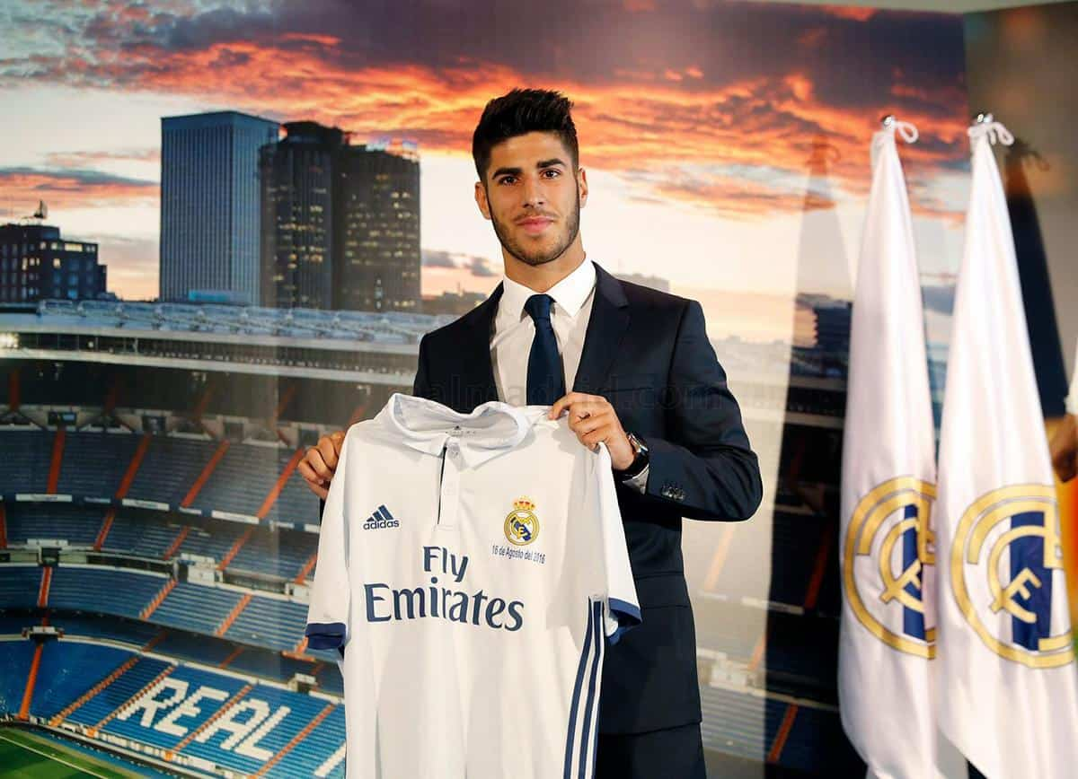 Marco Asensio has been officially presented as a Real Madrid player.