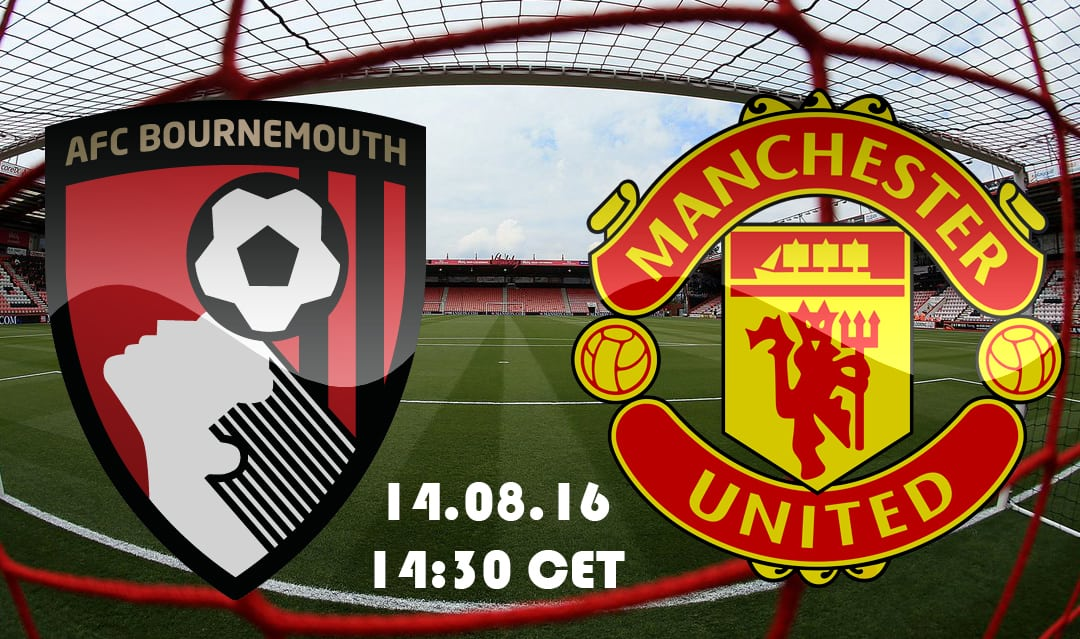 Manchester United open the new Premier league season with a meeting with Bournemouth.