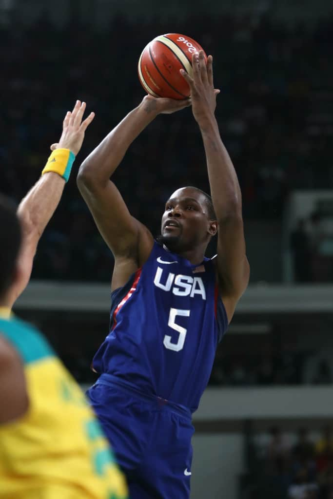 Kevin+Durant+Basketball+Olympics+Day+5