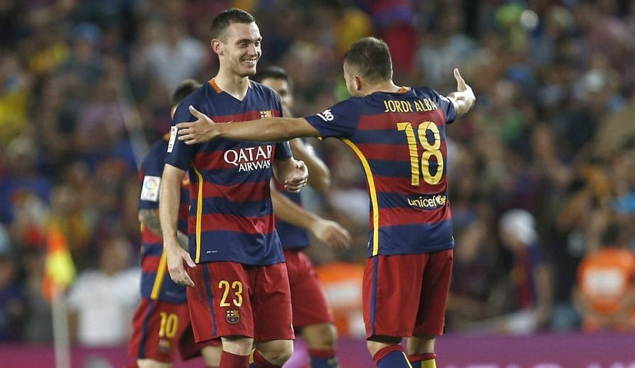 Barcelona have officially confirmed that their defender Thomas Vermaelen is in Rome.