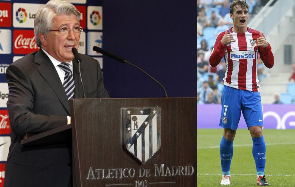 Atletico Madrid president Enrique Cerezo thinks that Antoine Griezmann can become the best player on the planet in near future.