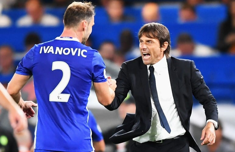 Antonio Conte is unhappy with his defenders' performance against Arsenal and thinks that some of them don't meet the required standard.
