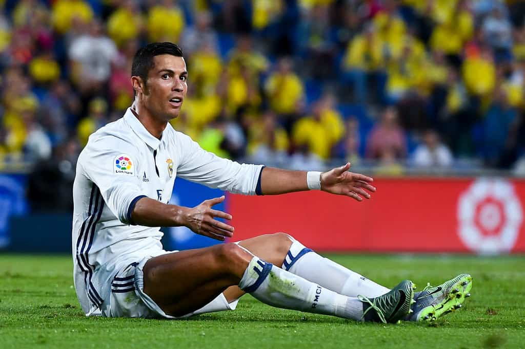 """Real Madrid boss Zinedine Zidane insists """"I had to let Cristiano Ronaldo rest"""" as """"the team's performance was very good"""" against Las Palmas."""