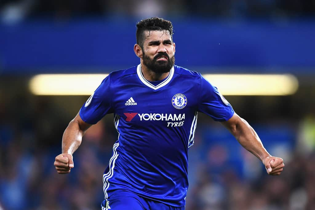 Chelsea head coach Antonio Conte talked about his team's striker Diego Costa's temperament.