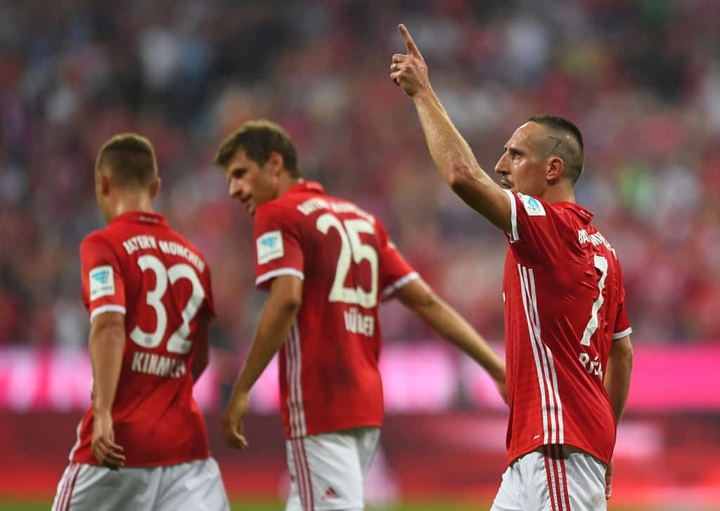 Franck Ribery is eager to sign a new contract with Bayern Munich which will see him at the club after the current season.
