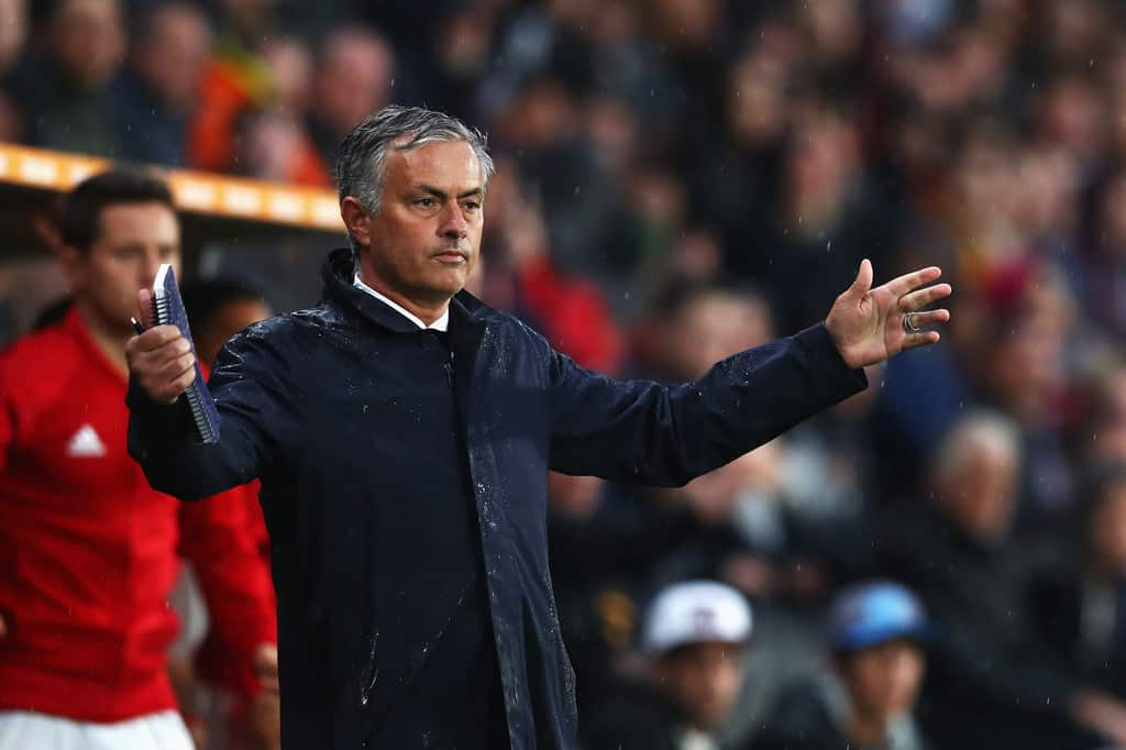 Manchester United head coach Jose Mourinho has been chosen as the best coach in Premier league in August.