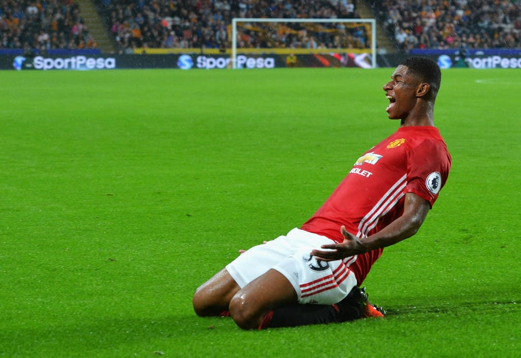 Manchester United want to extend the contract with Marcus Rashford.