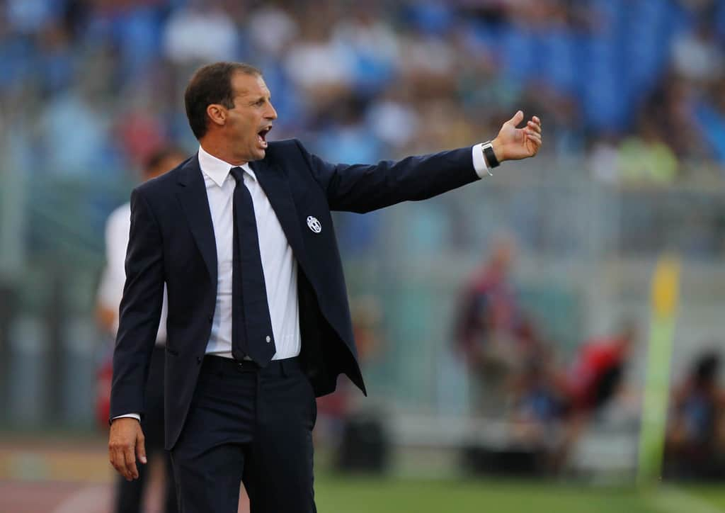 Juventus managed Massimiliano Allegri isn't upset after his side's goalless draw with Sevilla.