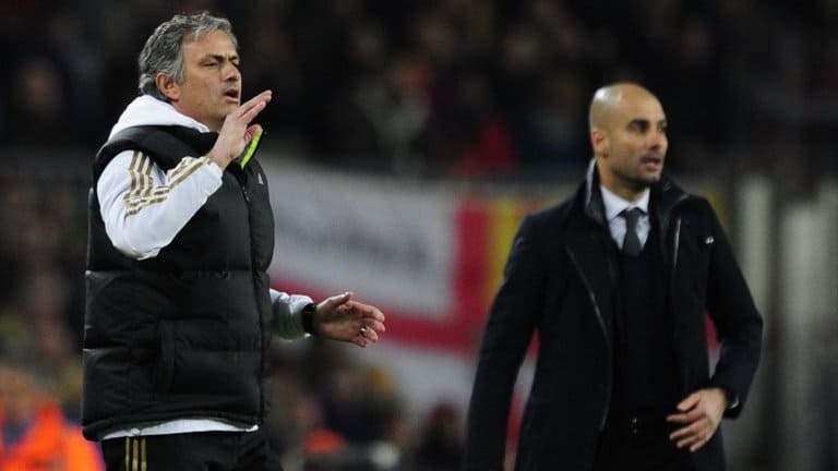 Mourinho and Guardiola facing each other again in EPL for Manchester Derby