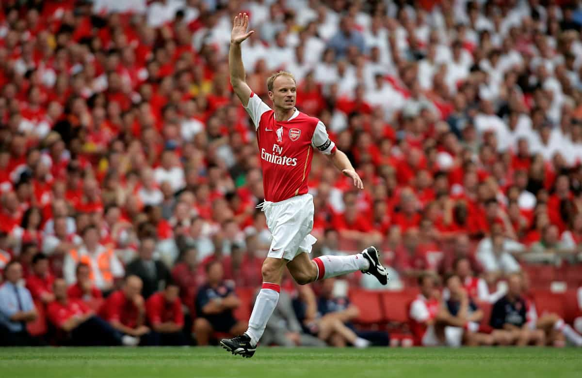 Dennis Bergkamp is considering pursuing a coach career ...