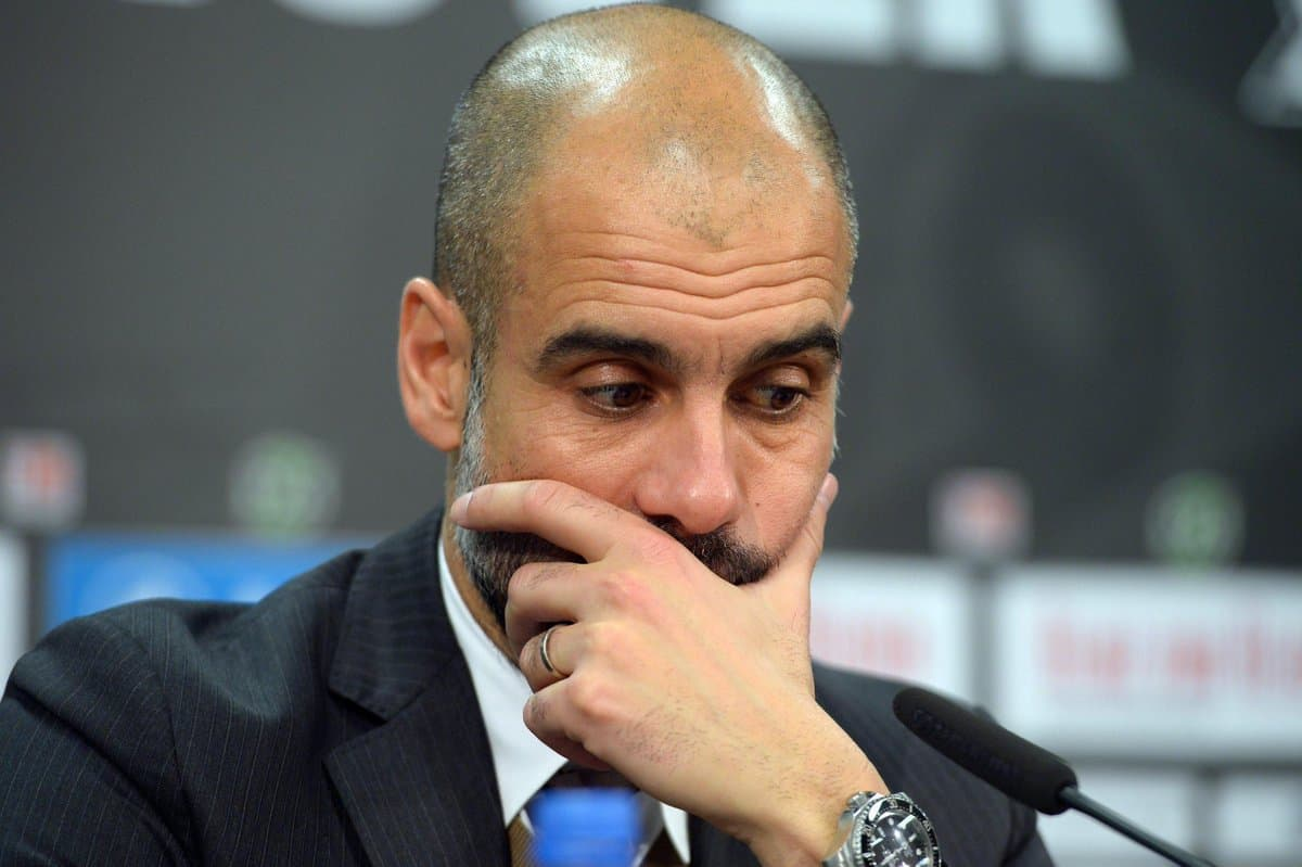 Pep Guardiola Man City manager