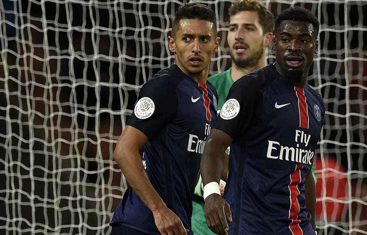 Barcelona are keen to sign Paris Saint-Germain's controversial defender Serge Aurier.