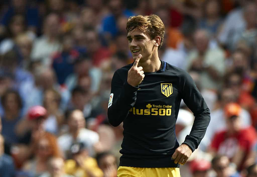 Antoine Griezmann says a move to Ligue 1 champions PSG does not form part of his plans at the moment.