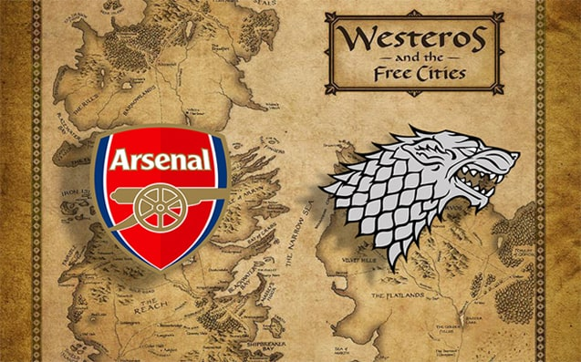 Arsenal FC compared to House Stark
