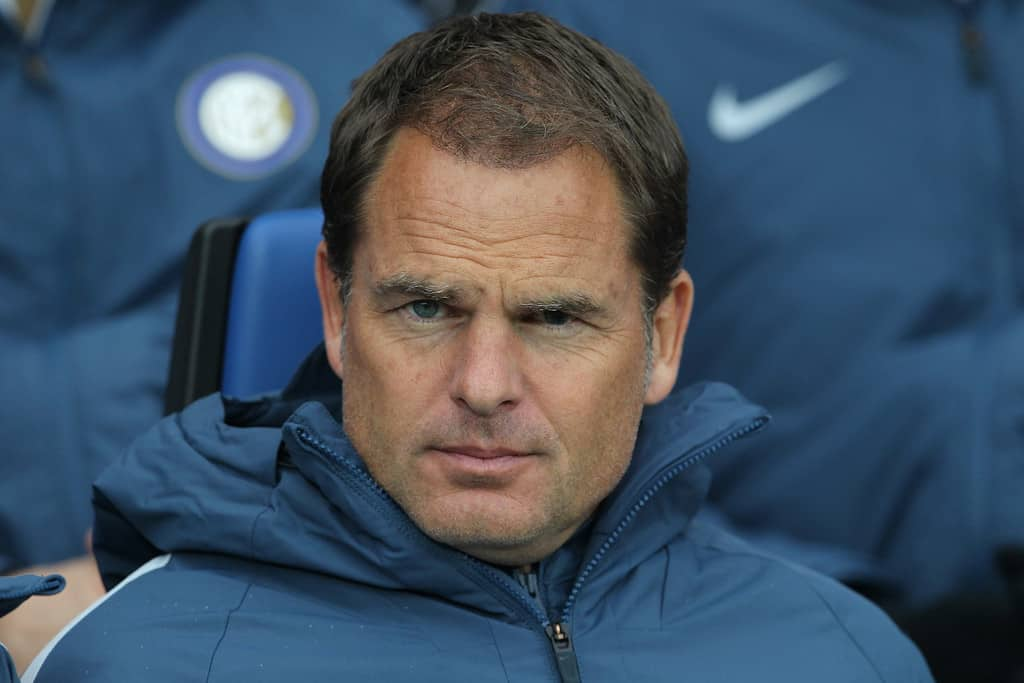 Inter Milan head coach Frank de Boer is confident he has the owners' backing but knows he must reassure them with a midweek victory over Torino.
