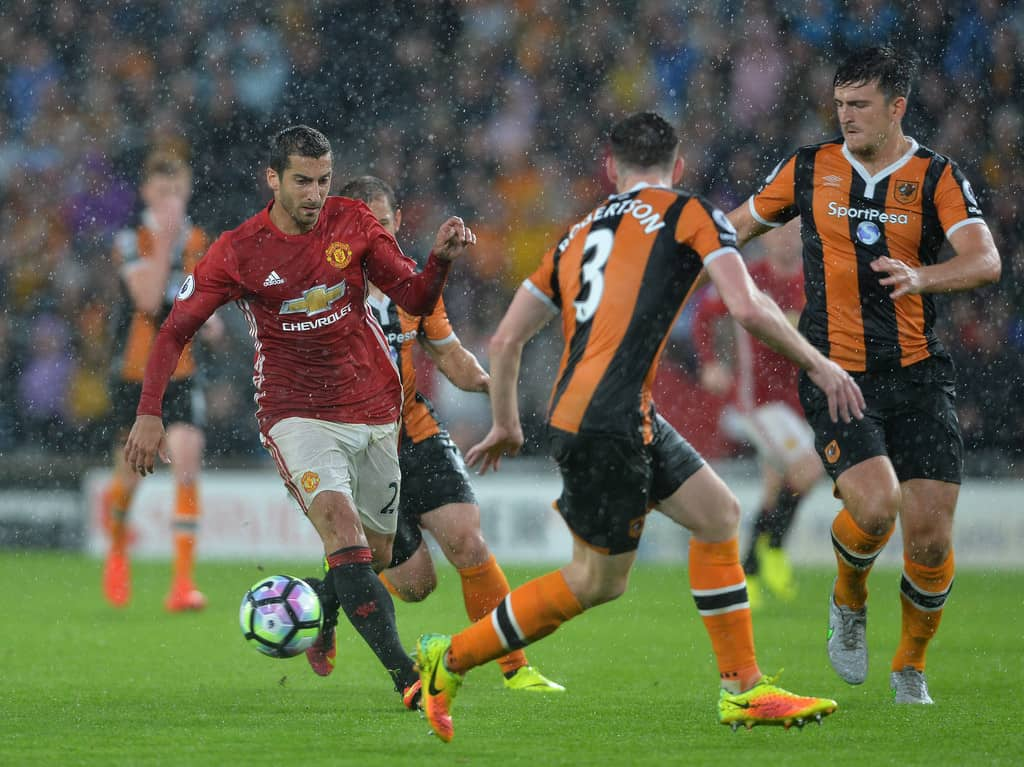 henrikh mkhitaryan vs hull city manchester United