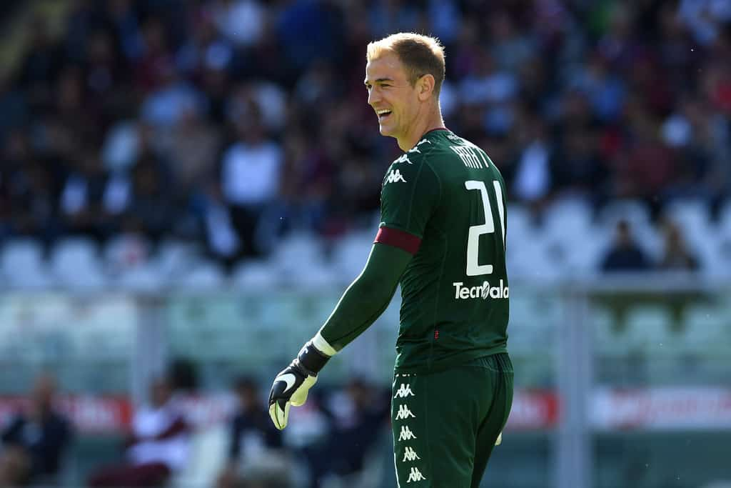 Claudio Bravo might have made an unconvincing start at Manchester City, but Torino seem pretty pleased with Joe Hart.