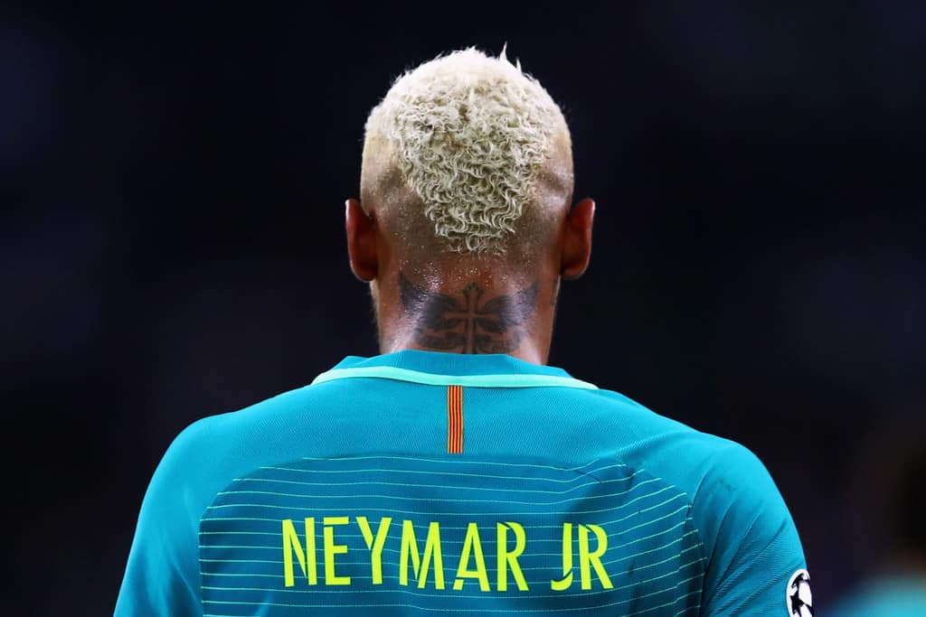 Barcelona striker Neymar was an object of transfer speculations all the summer long.