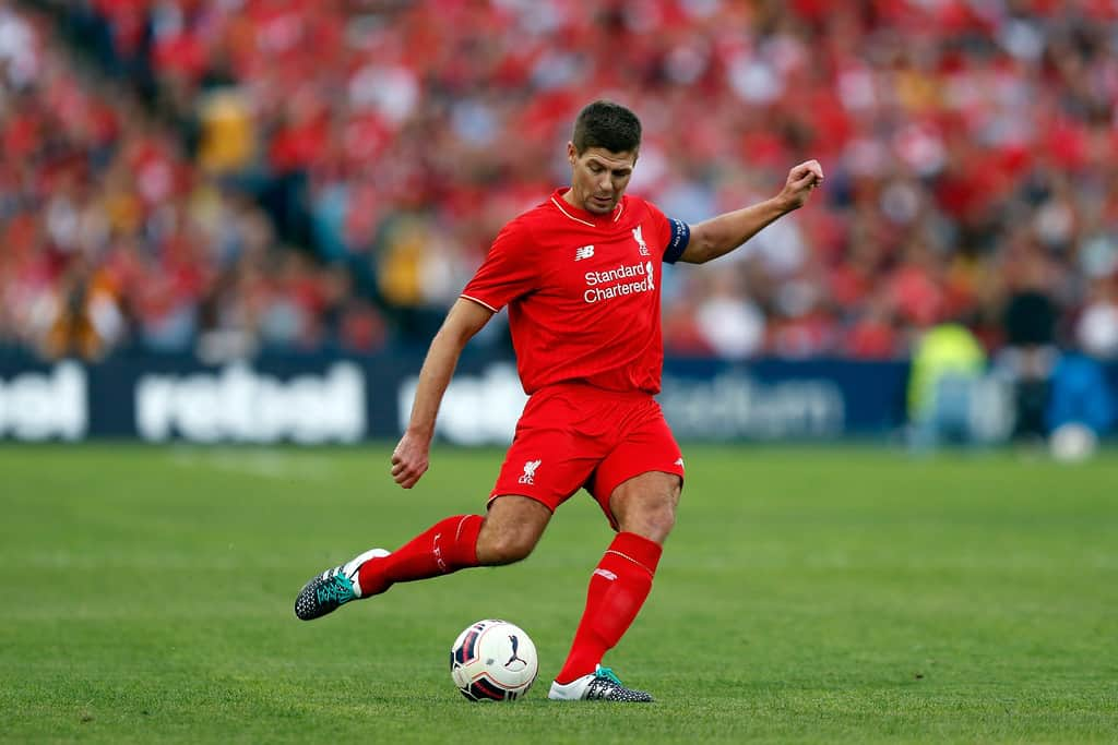 "Jurgen Klopp says Steven Gerrard is ""always welcome"" at Liverpool, after some fans believed the midfielder had hinted at an LA Galaxy exit."