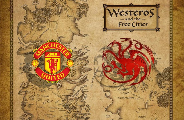 Manchester United compared to House Targaryen