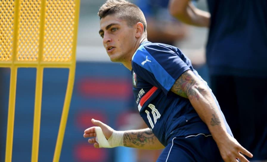 Inter Milan are lining up a move for PSG midfielder Marco Verratti, according to reports in Gazzetta dello Sport. The Serie A club are prepared to splash out as much as €65m in order to lure the Italy international back to his homeland.