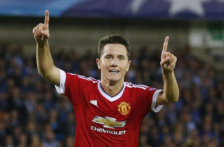 Ander Herrera says Manchester United team-mate Zlatan Ibrahimovic sets the standard for the squad on a daily basis.