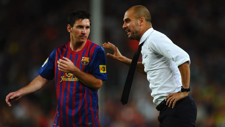 Manchester City boss Pep Guardiola says he hopes Lionel Messi finishes his career at Barcelona but does not think a move to England is completely out of the question.