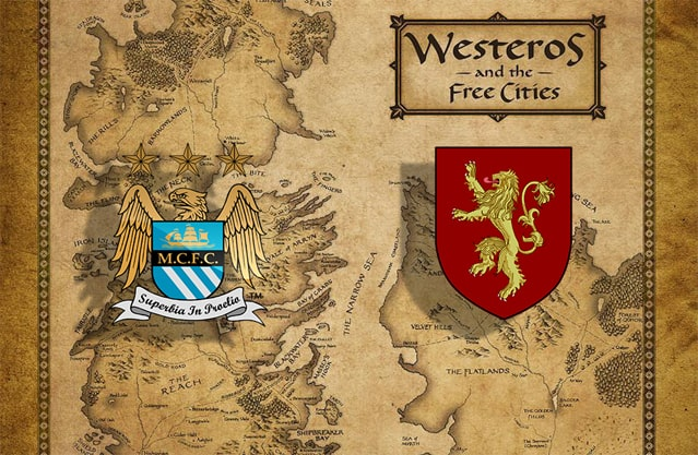 Manchester City compared to House Lannister