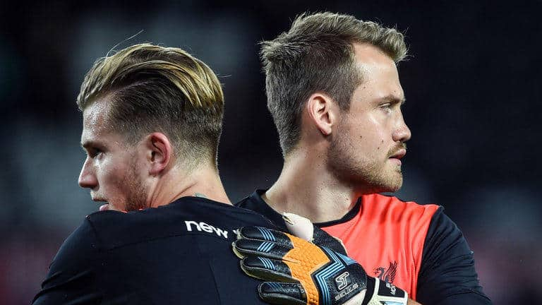Simon Mignolet says he will not accept being the second choice goalkeeper at Liverpool behind Loris Karius.
