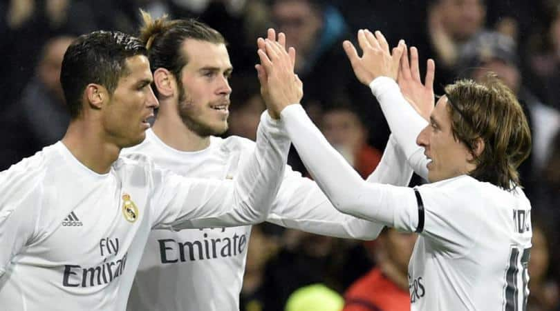 Real Madrid to sign new deals with Ronaldo Bale and Modric