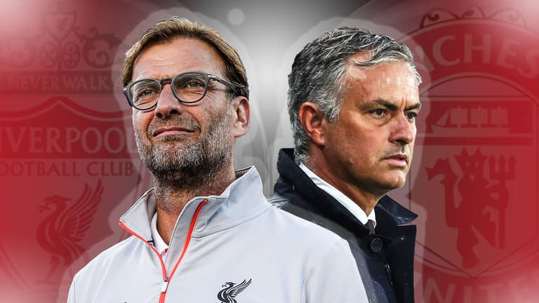Battle of managers Liverpool vs Manchester United