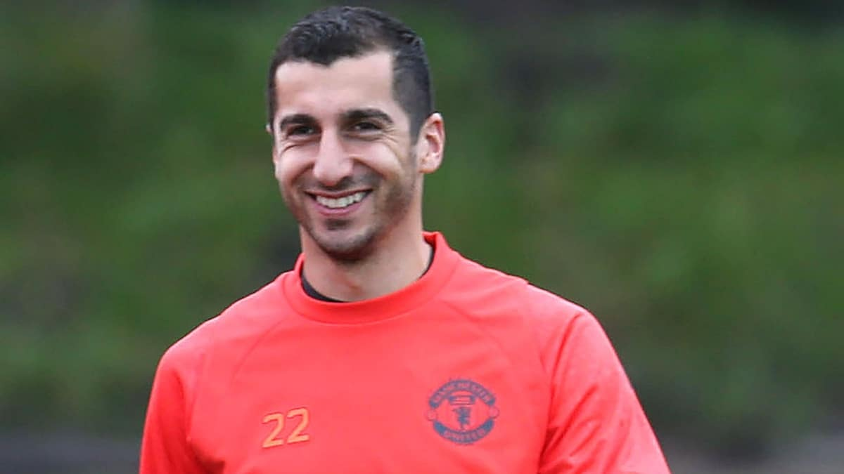 Mou confirms Mkhitaryan for Feyenoord game
