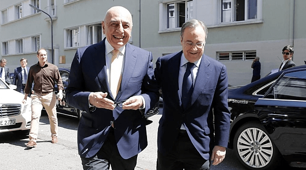 AC Milan CEO Adriano Galliani may be moving to Real Madrid.